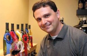 Award-winning winemaker David Specter. Photo taken September 2011 by Joseph Fuqua II of the Cincinnati Enquirer.